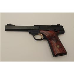 """Browning """"Buckmark"""" .22 caliber semi-auto  pistol in excellent condition retained in its  original b"""