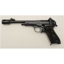 "U.S.S.R. Margolin semi-automatic target  pistol, .22 caliber, 7.5"" barrel, blued  finish, checkered"