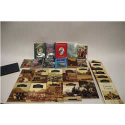 Lot of approximately 30 reference works,  primarily on the West, including 18 different  historical