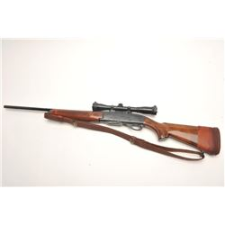 Remington Woodsmaster Model 742 .30-06  caliber semi-auto rifle, S/N 7061813 and  mounted with Burri