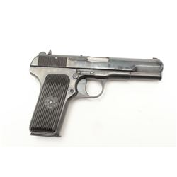 Romanian-made Tokarev Model TTC  semi-automatic pistol, import marked  (C.A.I.), 7.62mm caliber, 4.5