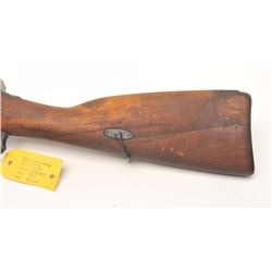 Mosin Nagant Model 91/30 bolt action rifle,  7.62 x 54R caliber, serial #86043.  The rifle  is in ve