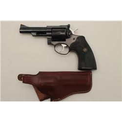 "Ruger Security-Six Model DA revolver, .357  Magnum caliber, 4"" barrel, blued finish,  checkered hard"