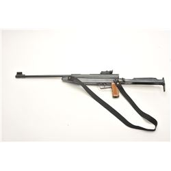 Shanghai pellet rifle, built like an RWS  pellet gun, S/N K613097, with woven sling;  appears to be