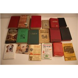 Large lot of over 30 books on Religion and  General literature.      Est.:  $75-$150.