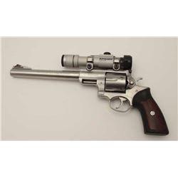 "Ruger Super Redhawk Model DA revolver, .44  Magnum caliber, 9.5"" barrel, stainless,  composite grips"