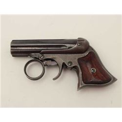 "Remington-Elliot 5-shot ring trigger  derringer, .22RF caliber, 3"" barrel assembly,  blued finish, w"