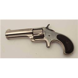 "Remington Smoot New Model No. 1 revolver,  .30RF short caliber, 2.75"" octagon barrel,  nickel finish"