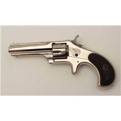 Early Remington Smoot New Model No. 1  revolver with very scarce revolving recoil  shield, .30 RF sh