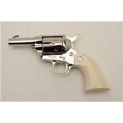 "Special ordered Colt SAA ""Sheriffs Model""  revolver in .45 L.C. caliber, 3"" barrel,  nickel plated,"