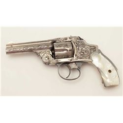 Smith & Wesson 3rd Model New Departure DA  revolver, period engraved Schuyler and  Hartley or New Yo