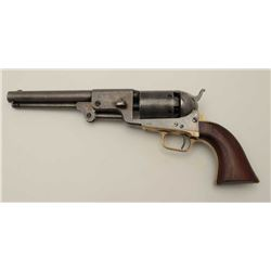 "Colt 3rd Model Dragoon with rare and  desirable 8"" barrel, S/N 19447. Lightly  cleaned metal surface"