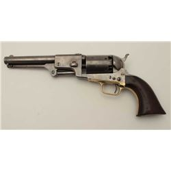 Colt 3rd Model Dragoon scarce cut for  shoulder stock variation, S/N 19141 in good  original conditi