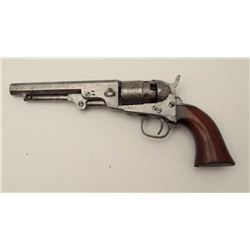 "Colt Pocket Model of Navy Caliber with a 5 ½""  London marked barrel, iron guard and .36  caliber per"