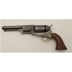 Colt 3rd Model Dragoon .44 caliber percussion  in good condition, S/N 15445. Lightly  cleaned metal