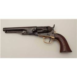"Colt Model 1862 Police revolver with a 5 ½""  barrel in .36 caliber percussion, S/N 35540.  20%-30% o"