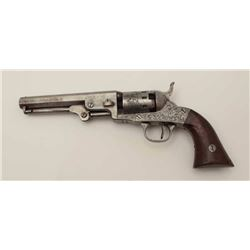 """London Pistol Co. marked .31 caliber  percussion revolver made by Bacon with 5""""  barrel and no seria"""