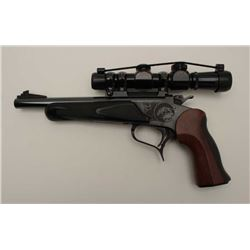 Thompson Contender Single Shot pistol with  7mm Thompson Contender barrel with holster  and case. 2