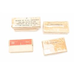 Lot of 5 boxes of collector ammunition  including a box of Winchester .35 Win. for  the 1895 rifle,
