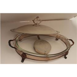 Large formal silver plated server. Est.:  $25-$50