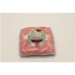 Lladro frog prince in box. Est.: $75-$150