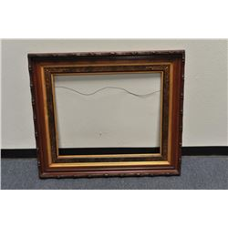 """Beautiful large fancy antique wood picture  frame in very good condition; approximately  42"""" x 35"""" o"""