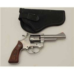 "Rossi .22 caliber double action stainless  steel ""Kit Gun"" inspired revolver with target  sights, S/"