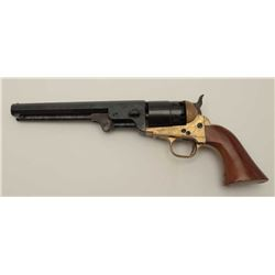 Pietta Italy made .36 caliber Confederate  style reproduction revolver, S/N 276130. Very  good plus