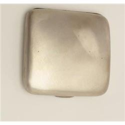 Sterling cigarette case, British hallmarks,  155 grams weight.     Est.:  $75-$150.