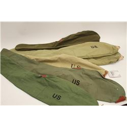 High quality reproduction canvas U.S.  Military style carbine boots.     Est.:   $50-$100.