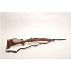 Custom Pre-64 Winchester Model 70  Featherweight bolt action rifle, .243  Winchester caliber, serial