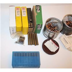 Bonanza lot of .405 Winchester reloading  items.  The lot includes:  170+ Reardon 300  gr. Bullets,