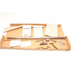 Vincent Rifle muzzleloader kit by Golden Age  Arms Co., .36 caliber, serial #NSNV.  The kit  rifle i