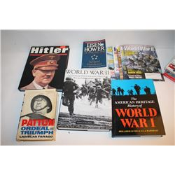 Book lot of approximately 17 works on World  War II.      Est.:  $75-$150.