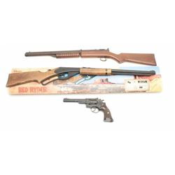Lot of 3 BB Guns, 1 Daisy 1939 B, Benjamin  Franklin and Crossman 38T. Est.: $35-70