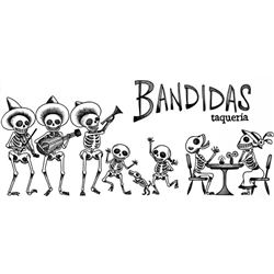$25 gift certificate from Bandidas Tacos