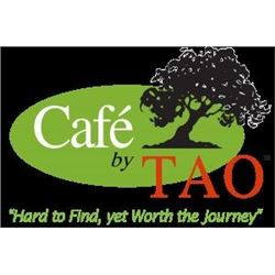 $40 gift certificate from Café by Tao