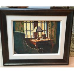 Larry Bracegirdle painting valued at $1,439