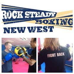 1 assessment, 1 month of classes & pair of gel wraps from Rock Steady Boxing New West valued at $260