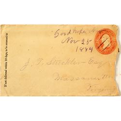 Good Hope unlisted Nevada Postal History Cover - 1884
