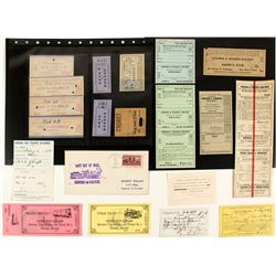 V&T railroad Tickets