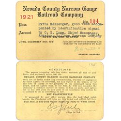 Nevada County RR Pass