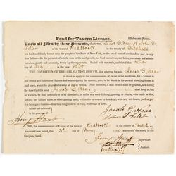 Bond for Tavern Licence