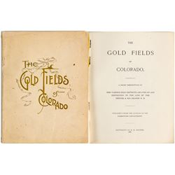 The Gold Fields of Colorado Booklet