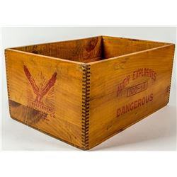Independent Explosives Company Wood Box