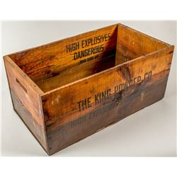 The King Powder Co. Dynamite Box
