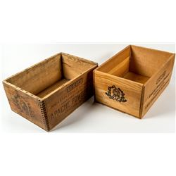 Apache Powder Co., Two Boxes