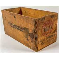 Trojan Powder Company Wood Box