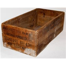 National Powder Co. Explosive Box