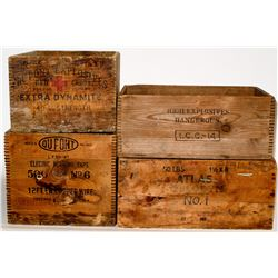 Dupont Explosives Boxes